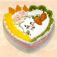 心形生日蛋糕