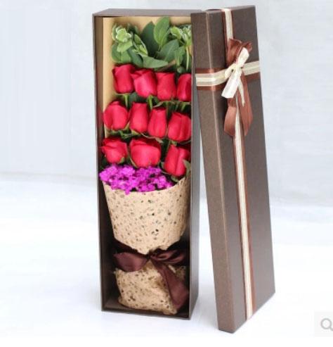 11朵红玫瑰礼盒