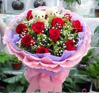 11朵玫瑰/在乎你