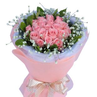 19朵粉色玫瑰