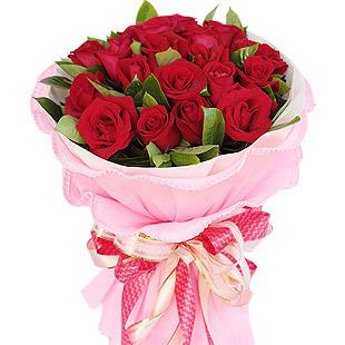艳红的玫瑰