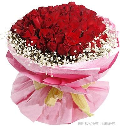 红玫瑰99枝